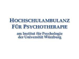 Hochschulambulanz Universität Würzburg